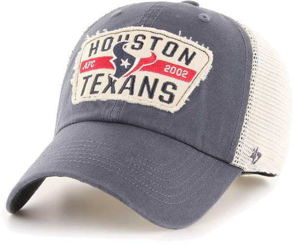 '47 Men's Houston Texans Crawford Clean Up Adjustable Navy Hat product image