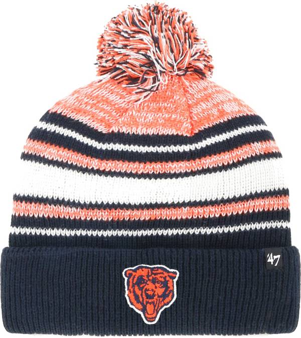 '47 Youth Chicago Bears Bubbler Navy Knit Hat product image
