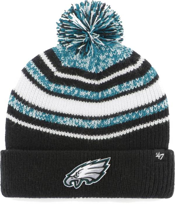 '47 Youth Philadelphia Eagles Bubbler Black Knit Hat product image