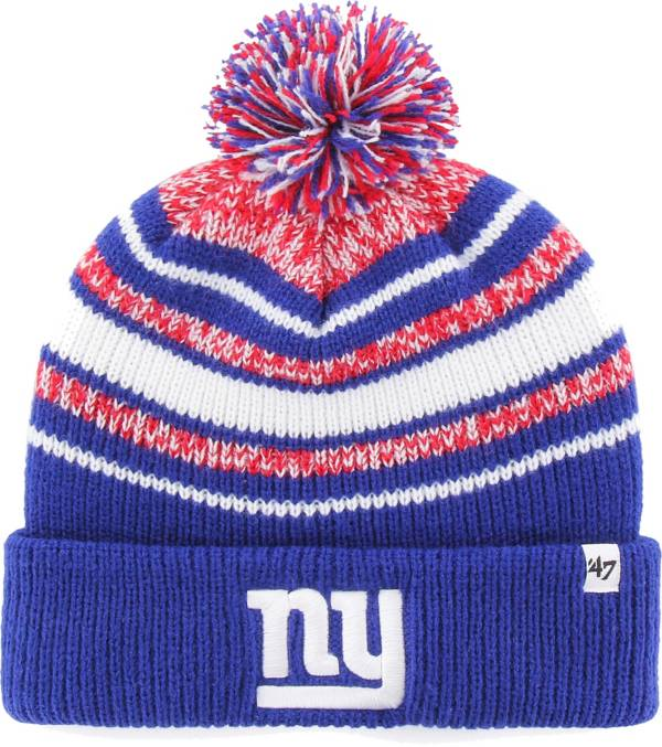 '47 Youth New York Giants Bubbler Royal Knit Hat product image
