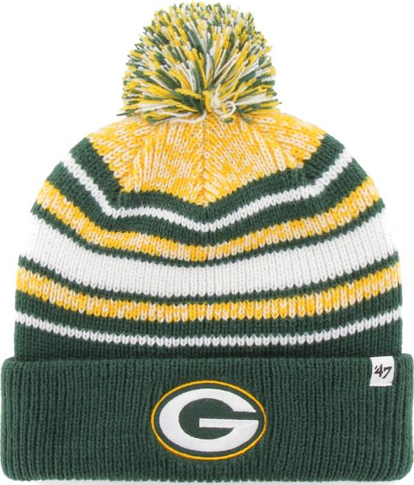 '47 Youth Green Bay Packers Bubbler Green Knit Hat product image