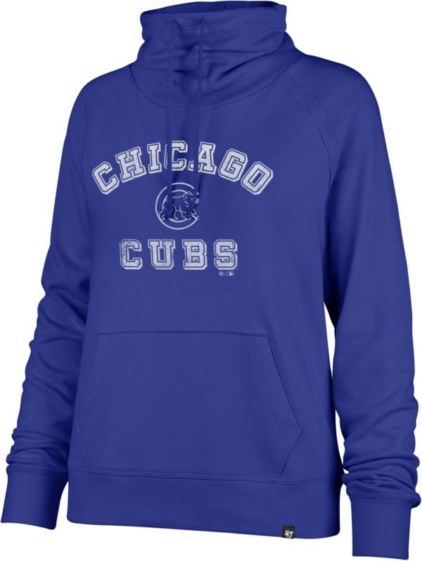 '47 Women's Chicago Cubs Royal Moonshot Funnel Neck Pullover product image