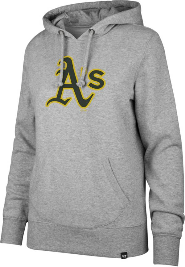 '47 Women's Oakland Athletics Grey Headline Pullover Hoodie product image
