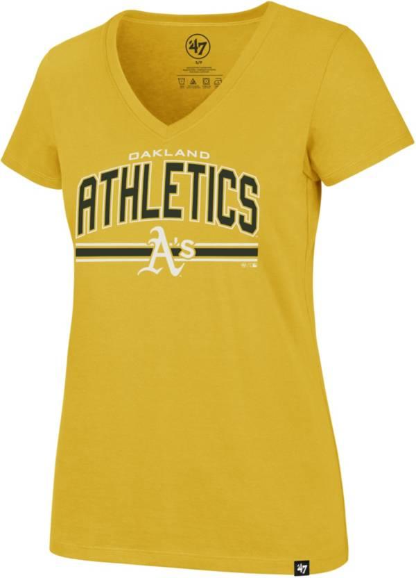 '47 Women's Oakland Athletics Ultra Rival V-Neck T-Shirt product image