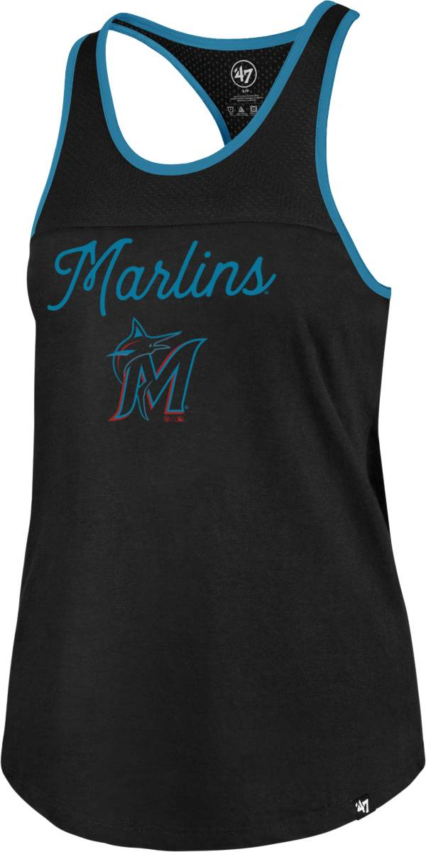 '47 Women's Miami Marlins Black Team Up Tank Top product image