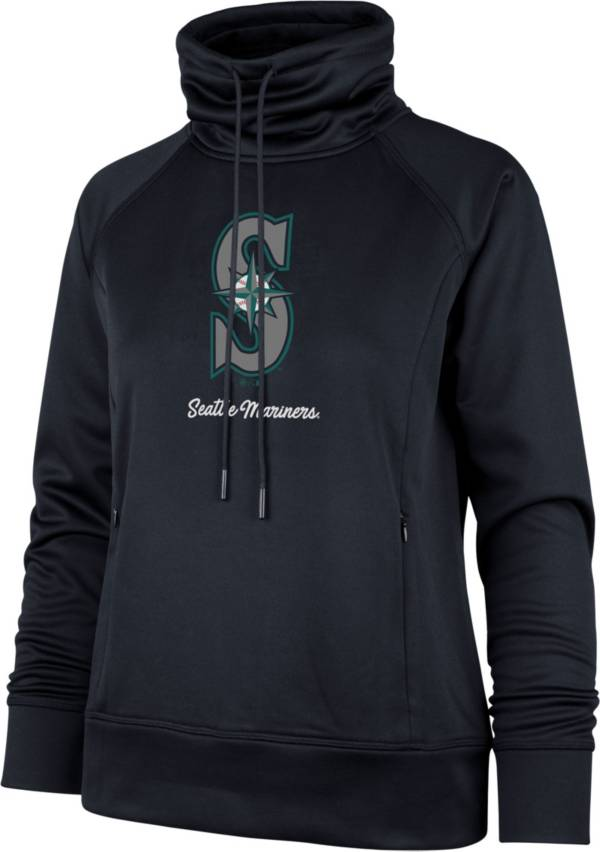 '47 Women's Seattle Mariners Navy Tech Fleece Funnel Neck Pullover product image