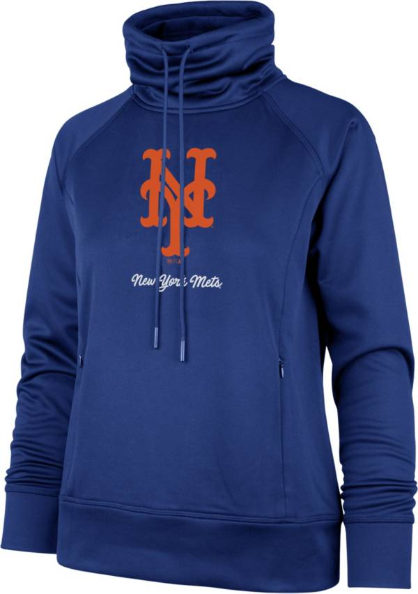 '47 Women's New York Mets Royal Tech Fleece Funnel Neck Pullover product image