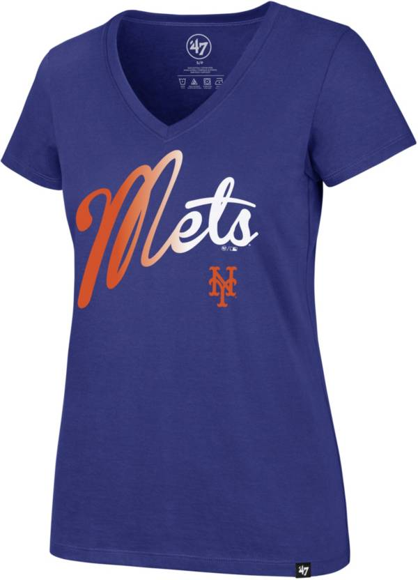 '47 Women's New York Mets Ultra Rival V-Neck T-Shirt product image