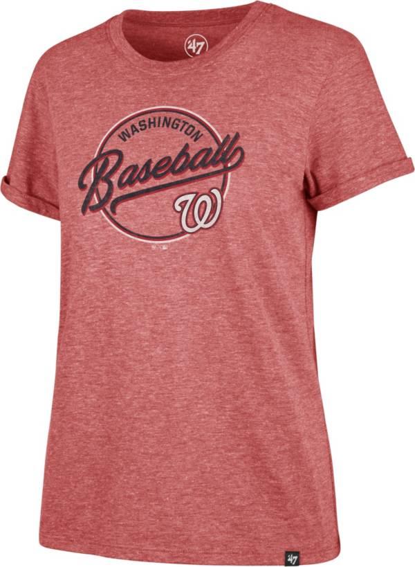 '47 Women's Washington Nationals Red Match Hero T-Shirt product image
