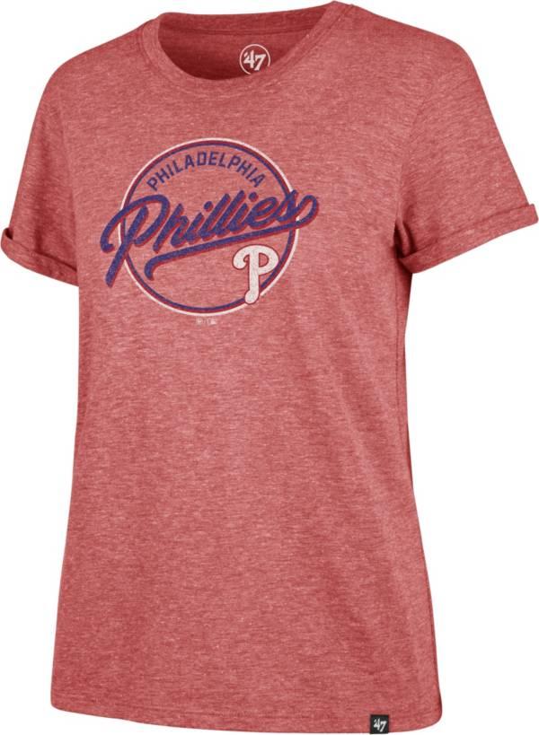 '47 Women's Philadelphia Phillies Red Match Hero T-Shirt product image