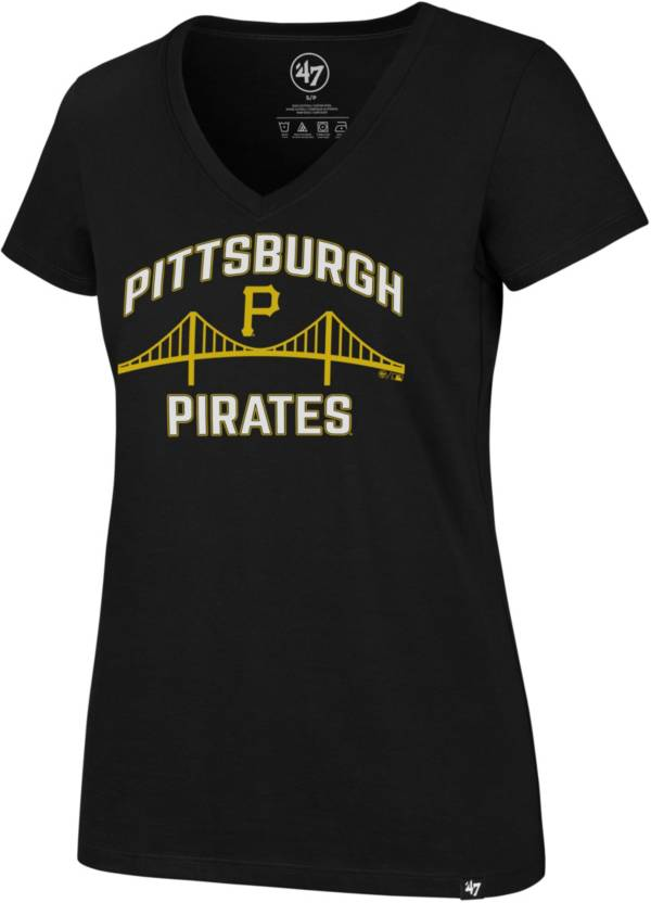 '47 Women's Pittsburgh Pirates Ultra Rival V-Neck T-Shirt product image