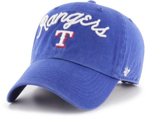 best service e598d b69ae  47 Women s Texas Rangers Melody Clean Up Adjustable Hat. noImageFound.  Previous