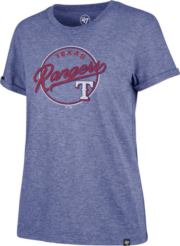 '47 Women's Texas Rangers Royal Match Hero T-Shirt product image