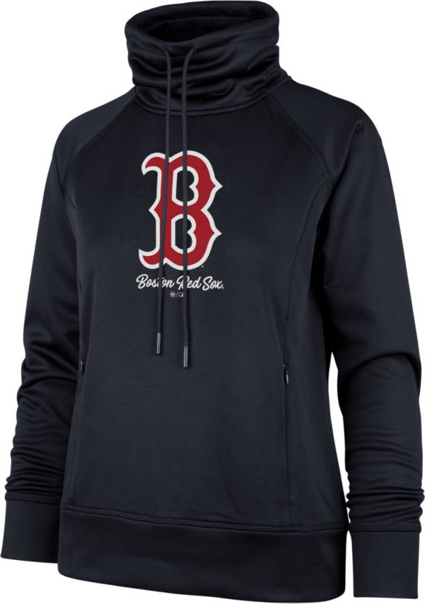 '47 Women's Boston Red Sox Navy Tech Fleece Funnel Neck Pullover product image