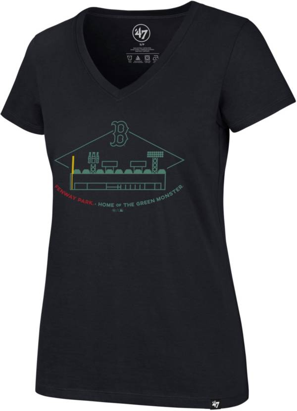 '47 Women's Boston Red Sox Ultra Rival V-Neck T-Shirt product image