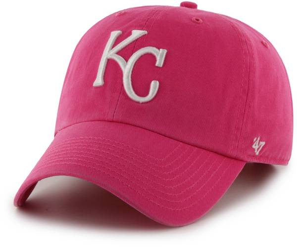 '47 Women's Kansas City Royals Pink Clean Up Adjustable Hat product image