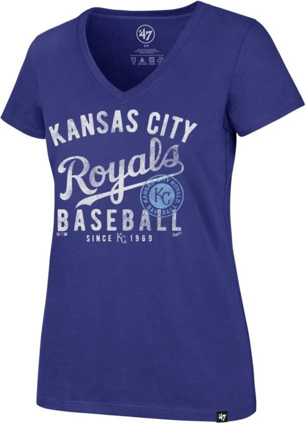 '47 Women's Kansas City Royals Ultra Rival V-Neck T-Shirt product image
