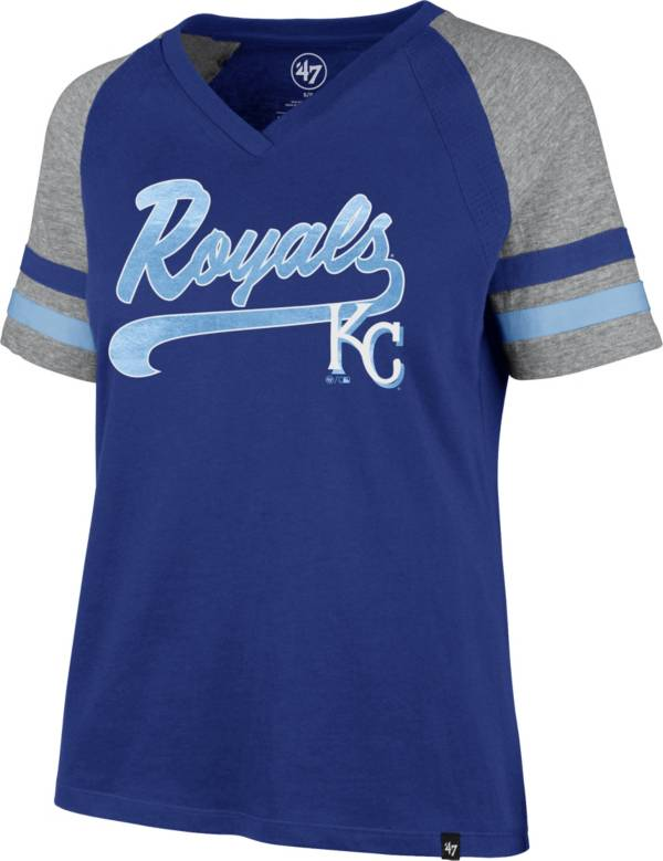 '47 Women's Kansas City Royals Royal Pavilion V-Neck T-Shirt product image