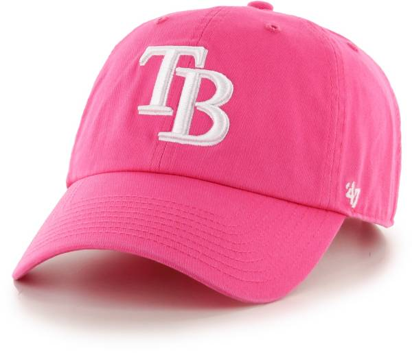 '47 Women's Tampa Bay Rays Pink Clean Up Adjustable Hat product image