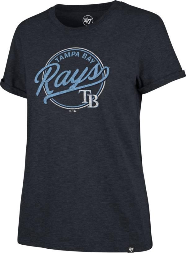 '47 Women's Tampa Bay Rays Navy Match Hero T-Shirt product image