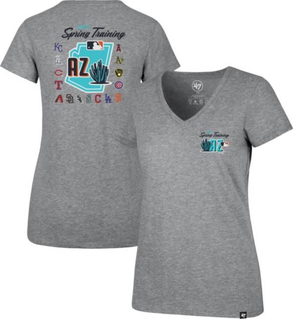 '47 Women's Grey 2020 Spring Training Cactus League V-Neck T-Shirt product image