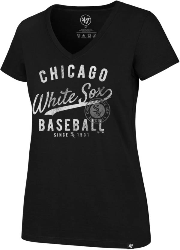 '47 Women's Chicago White Sox Ultra Rival V-Neck T-Shirt product image