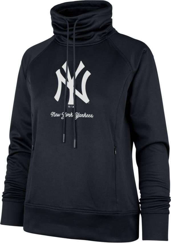 '47 Women's New York Yankees Navy Tech Fleece Funnel Neck Pullover product image