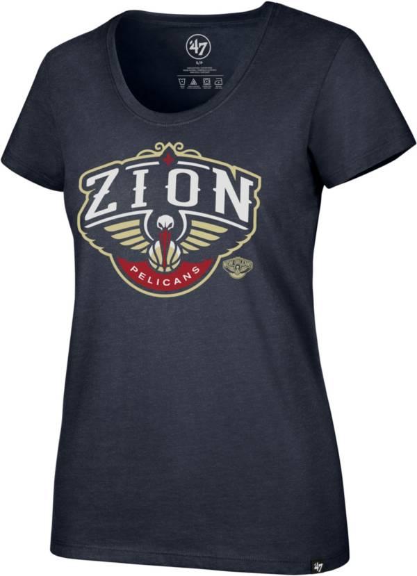 '47 Women's New Orleans Pelicans Zion Williamson Navy Scoop Neck T-Shirt product image