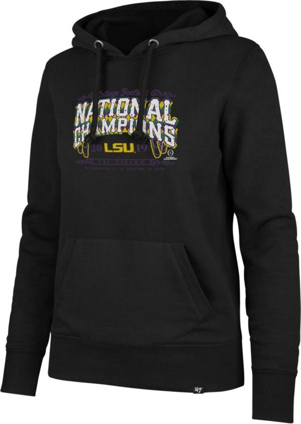 '47 Women's 2019 National Champions LSU Tigers Pullover Hoodie product image