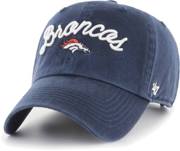 '47 Women's Denver Broncos Melody Clean Up Adjustable Navy Hat product image