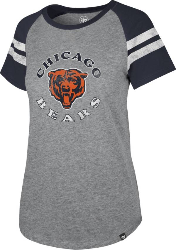 '47 Women's Chicago Bears Fly Out Raglan T-Shirt product image