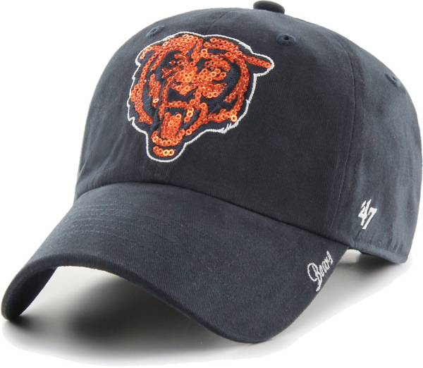 '47 Women's Chicago Bears Sparkle Logo Navy Adjustable Hat product image