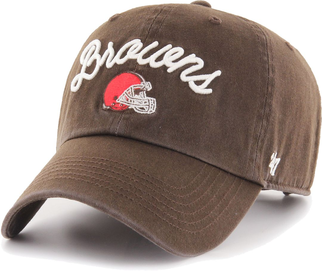 951f5f8d '47 Women's Cleveland Browns Melody Clean Up Adjustable Brown Hat