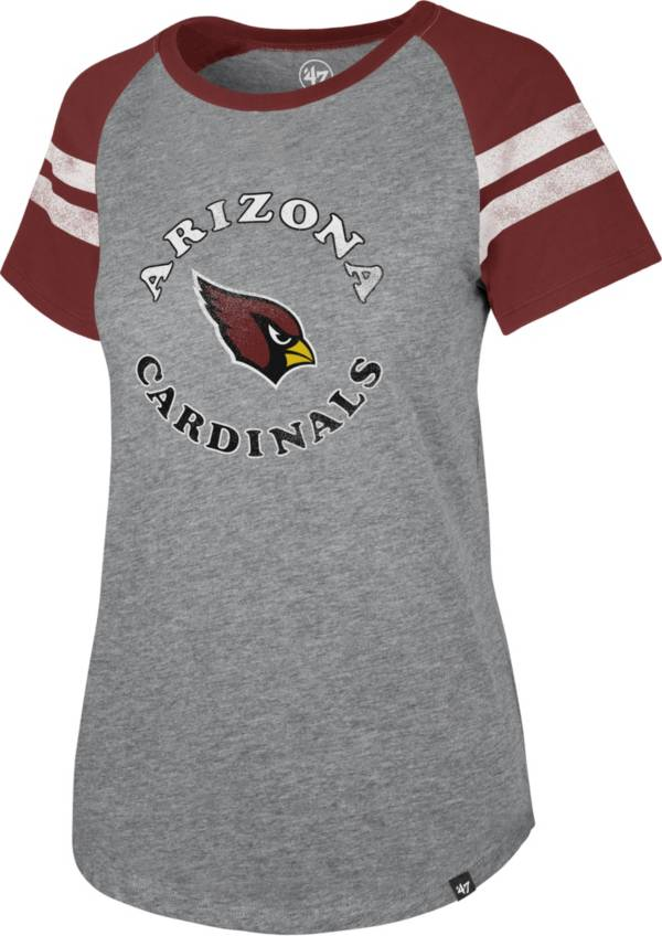 '47 Women's Arizona Cardinals Fly Out Raglan T-Shirt product image
