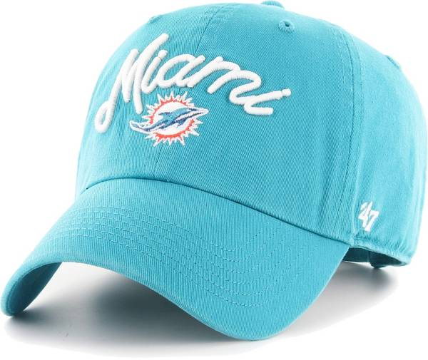 '47 Women's Miami Dolphins Melody Clean Up Adjustable Aqua Hat product image