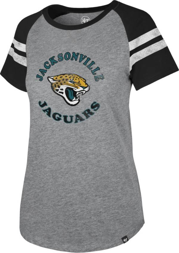 '47 Women's Jacksonville Jaguars Fly Out Raglan T-Shirt product image