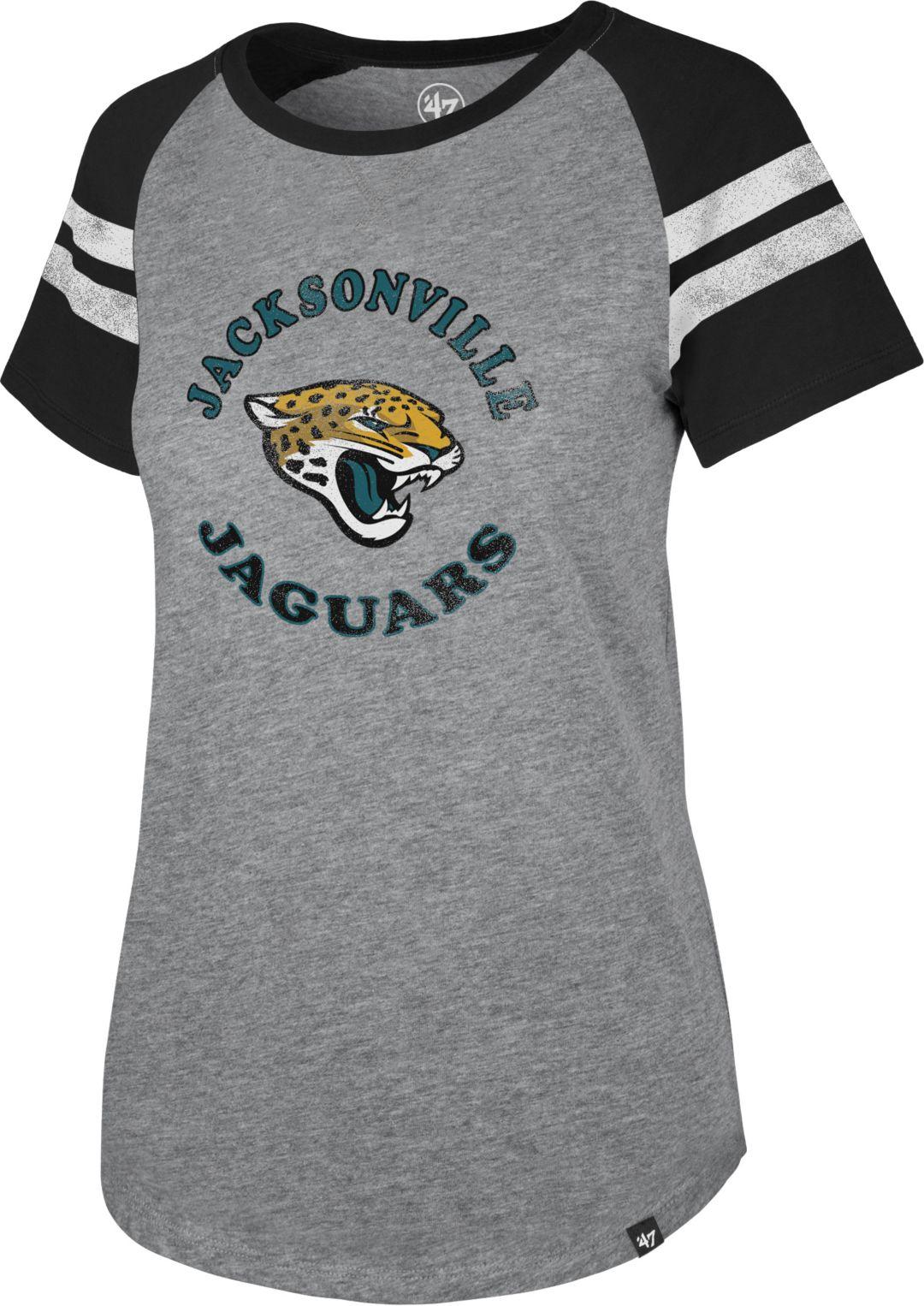 finest selection 87c87 2a1e9 '47 Women's Jacksonville Jaguars Fly Out Raglan T-Shirt