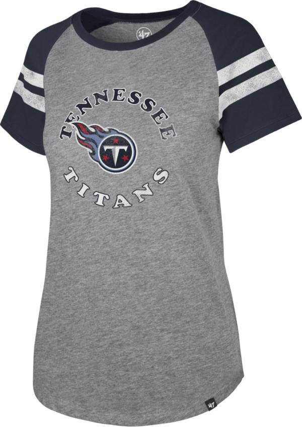 '47 Women's Tennessee Titans Fly Out Raglan T-Shirt product image