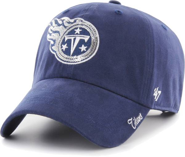 '47 Women's Tennessee Titans Sparkle Logo Navy Adjustable Hat product image