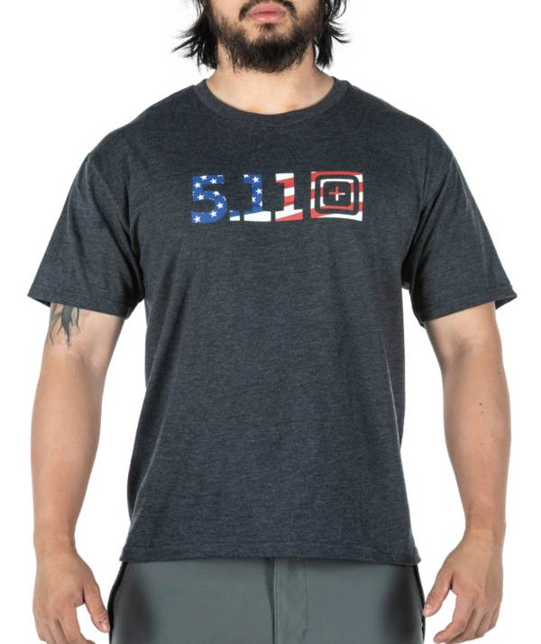 5.11 Tactical Legacy USA Flag Filled Graphic T-Shirt product image