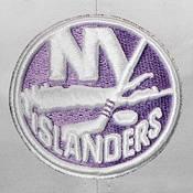 NHL Men's New York Islanders Hockey Fights Cancer Snapback Adjustable Hat product image
