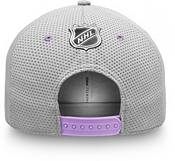 NHL Men's Nashville Predators Hockey Fights Cancer Snapback Adjustable Hat product image