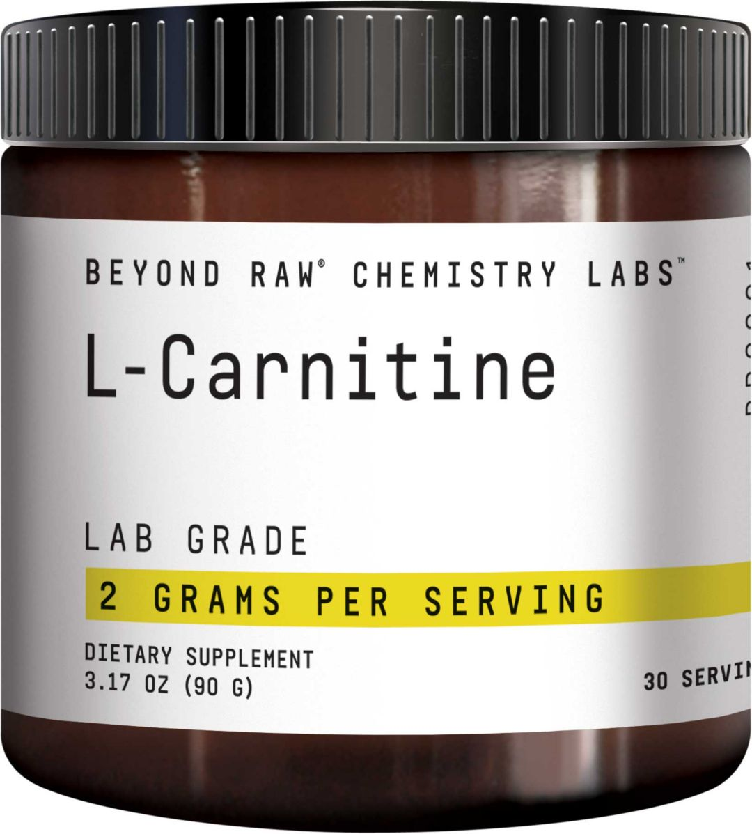 Beyond Raw® Chemistry Labs™ L-Carnitine 30 Servings