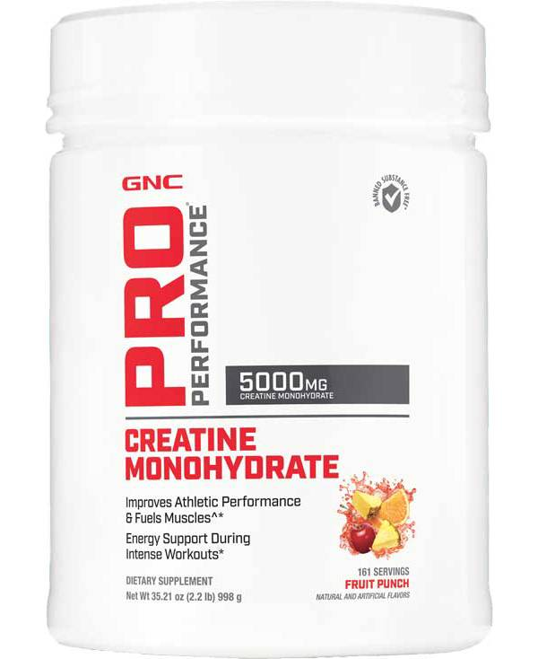 GNC Pro Performance Creatine Monohydrate Fruit Punch 161 Servings product image