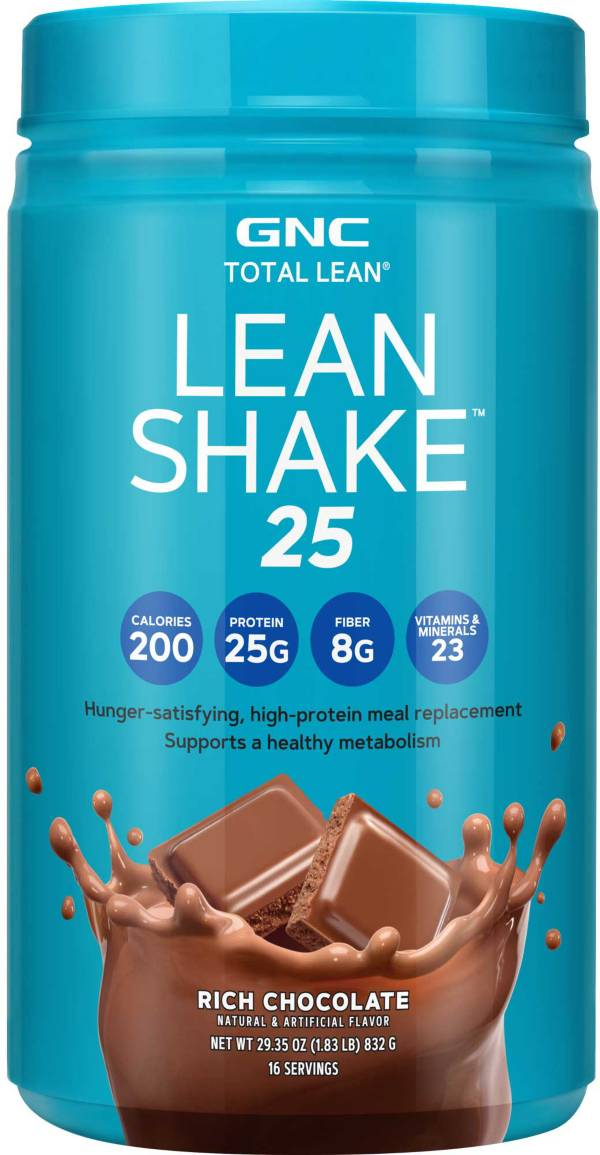 GNC Total Lean Lean Shake 25 Rich Chocolate 16 Servings product image