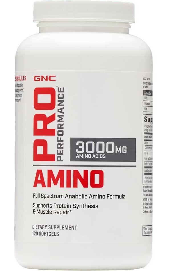 Pro Performance Amino 3000mg 120 Capsules product image