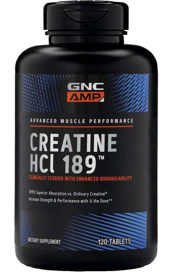 GNC AMP Creatine HCL 189™ 120 Capsules product image
