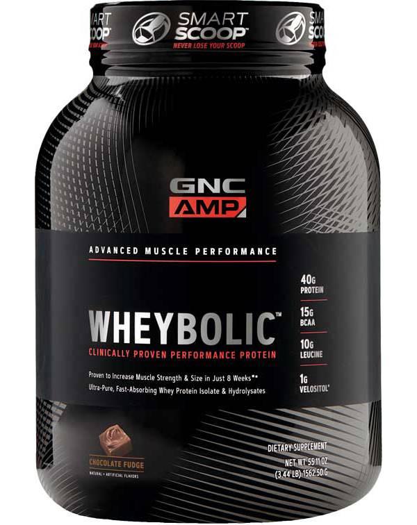 GNC Amp Wheybolic Protein Chocolate Fudge 25 Servings product image