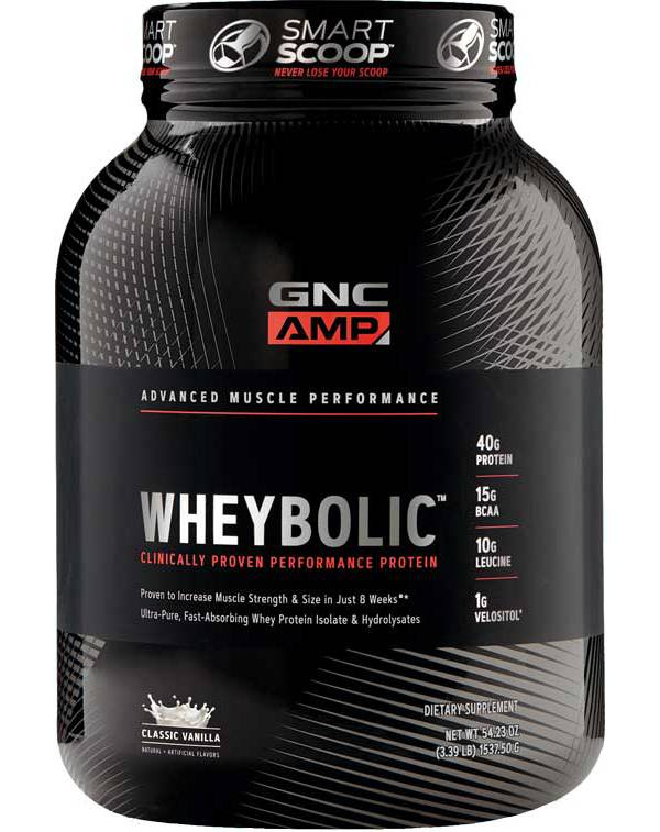 GNC Amp Wheybolic Protein Classic Vanilla 25 Servings product image