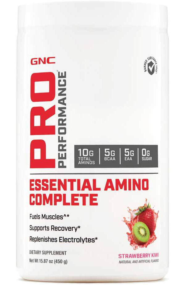 GNC Pro Performance Essential Amino Complete Strawberry Kiwi 30 Servings product image